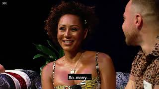A hilarious clip from Mel B's Brutally Honest and Fabulous Show