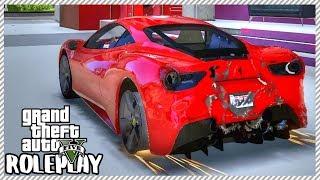 GTA 5 ROLEPLAY - Junkyard Rescue! Ferrari 488 GTB | Ep. 447 Civ