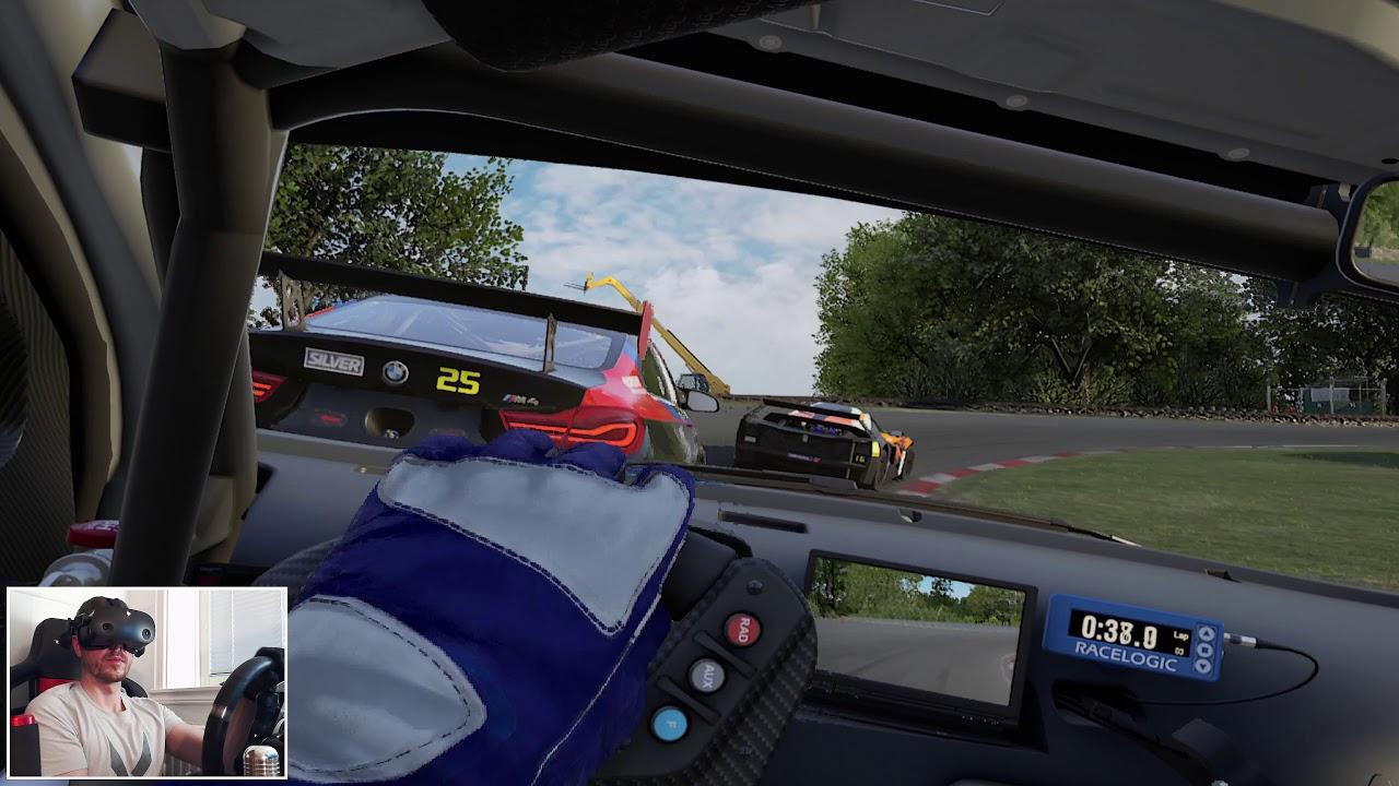 Assetto Corsa Competizione VR Gameplay GT4