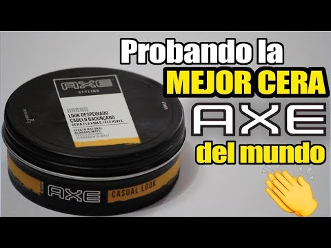 """OPINION DE LA MEJOR CERA DEL MERCADO """"AXE""""   JR Style For Men"""