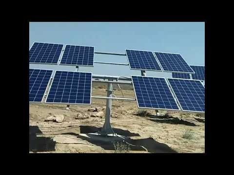 Solar 7.5 Hp centrifugal pump design for drip irrigation system driven on solar energy