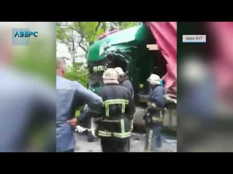 ТРК Аверс: Смертельна ДТП на Волині: вантажівка протаранила молоковоз