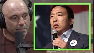 Joe Rogan on Andrew Yang's Vegetarian Stance