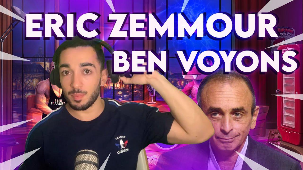 ERIC ZEMMOUR : POUR OU CONTRE ?