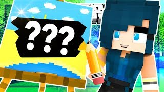 DRAW MY THING IN MINECRAFT!