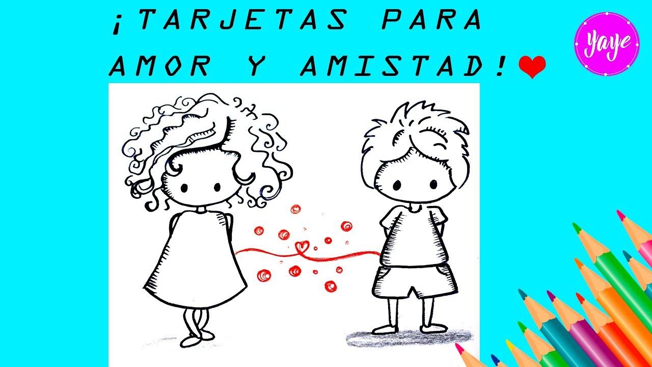 Como Dibujar Hermosa Tarjeta De Amor Y Amistad How To Draw Love And Friendship Card Youtube