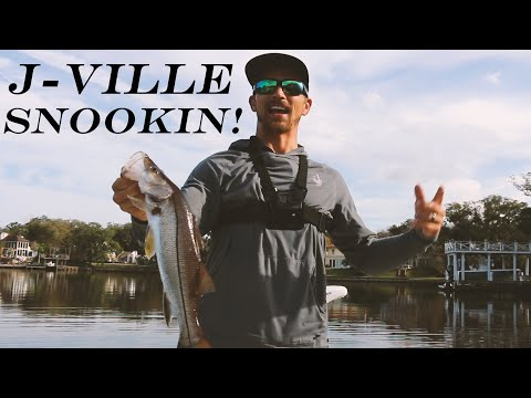 J-VILLE SNOOKIN! TARPON AND SNOOK FISHING JACKSONVILLE FLORIDA! (ST. JOHNS RIVER) (2020)