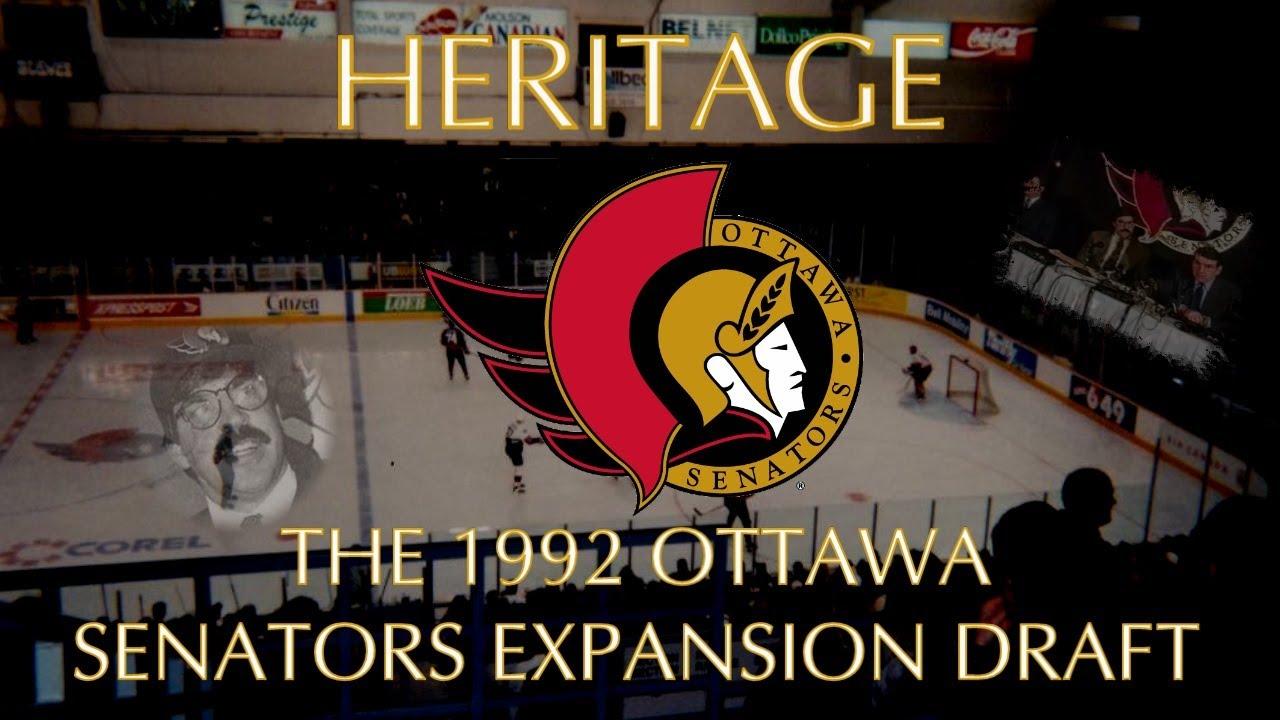 Heritage: The 1992 Ottawa Senators Expansion Draft