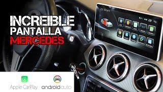 Cambio de Pantalla Mercedes GLA Navisson, CarPlay, GPS, Aplicaciones, Internet...