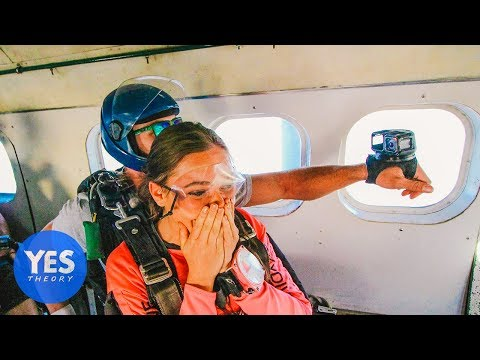 Asking Uber Drivers to go Skydiving on the Spot!!