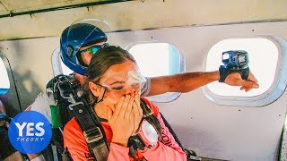�������� ���� Asking Uber Drivers to go Skydiving on the Spot!! ������