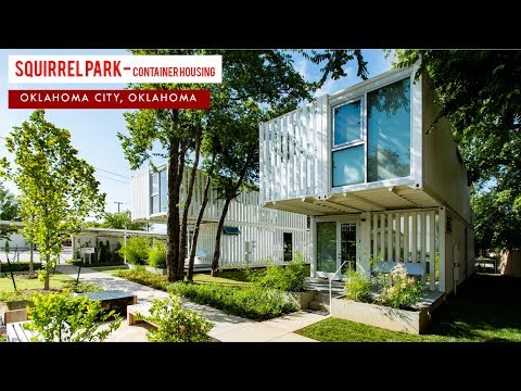 Squirrel Park: Container Housing in Oklahoma City | Allford Hall Monaghan Morris