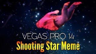 Vegas Pro 14: How To Make The Shooting Stars Meme - Tutorial #194