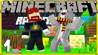 Max and Ross! | Minecraft Randomizer Survival #1!
