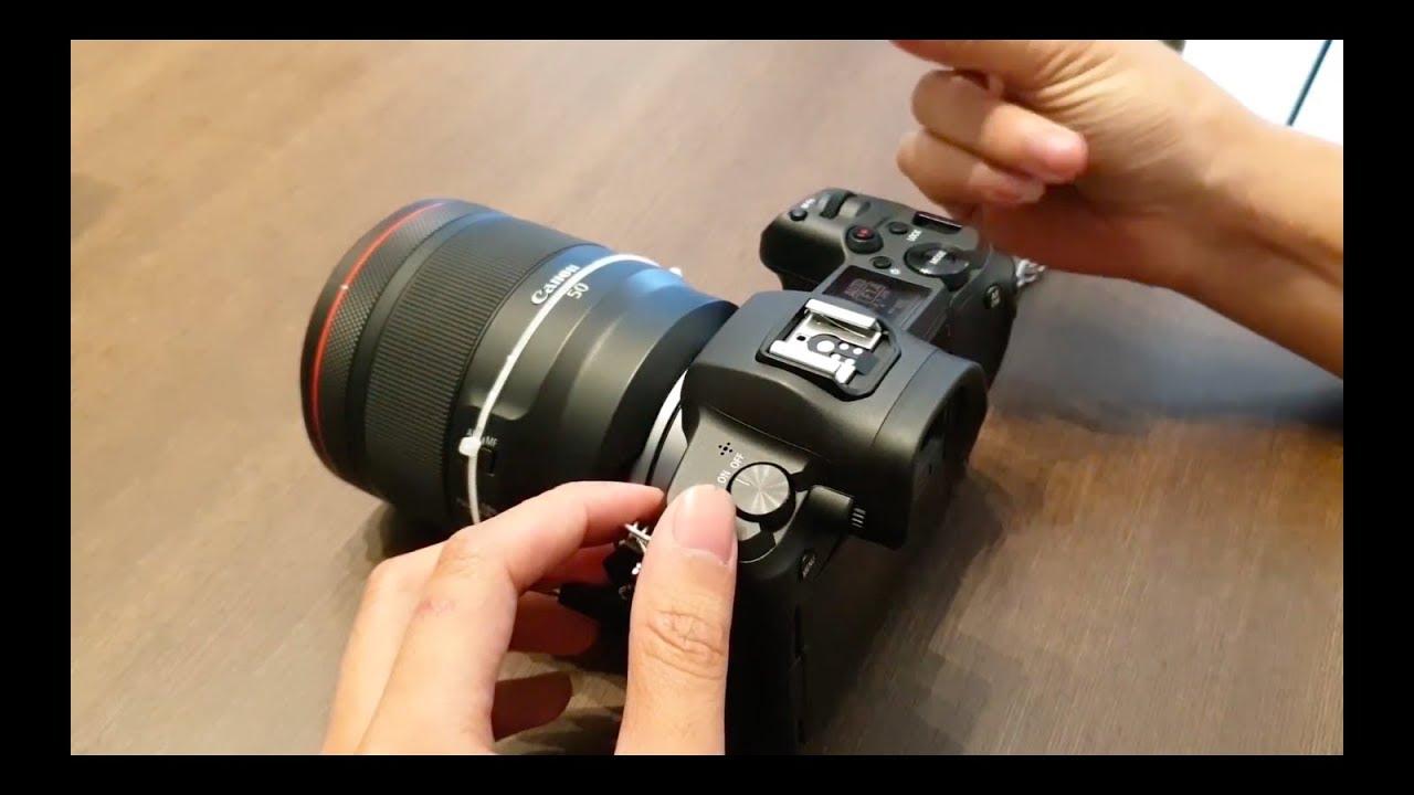 Canon EOS R - Mirrorless Fullframe đầu tiên của Canon - Xịn quá...huhu
