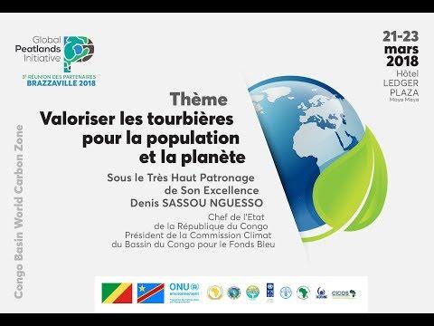 Tribune sur la Troisième réunion de l'initiative globale sur les tourbières à Brazzaville