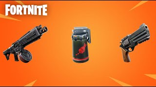 FORTNITE NEW LEAKED WEAPONS STATS AND GAMEPLAY NEW DRUM SHOTGUN NEW REVOLVER NEW WEAPONS FORTNITE!