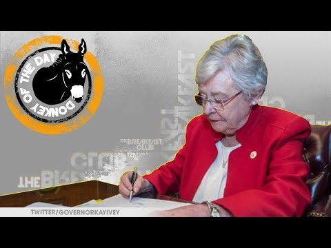 Governor Kay Ivey And 25 White Men Sign Nation's Most Restrictive Abortion Bill