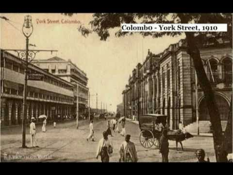 Sri Lankan's Seen at Colombo (100 Years ago)