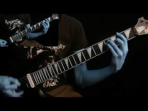 MORBID ANGEL - Altars of Madness (Guitar cover - part 1)