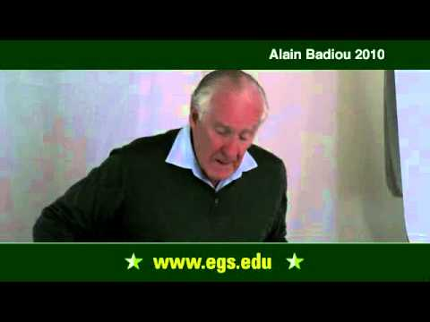 Alain Badiou. Philosophy and Time. 2010.