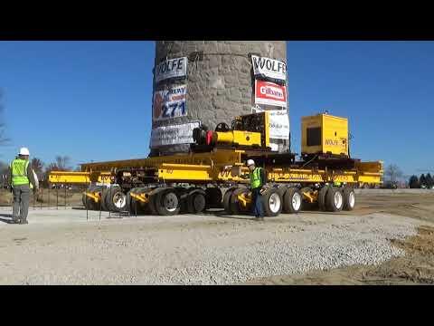 Stone Tower Relocation - Bristol, RI