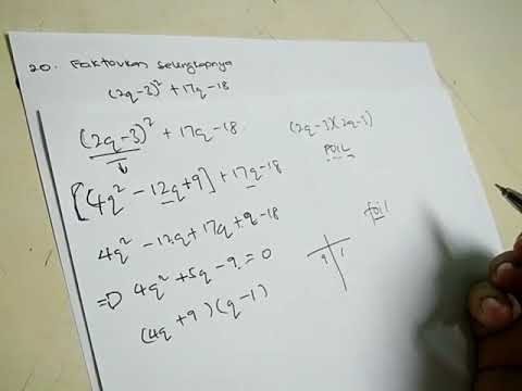 Contoh Soalan Matematik Spm 2017 Sbp Youtube