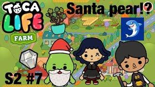 Toca life farm | Santa Pear!? S2 #7