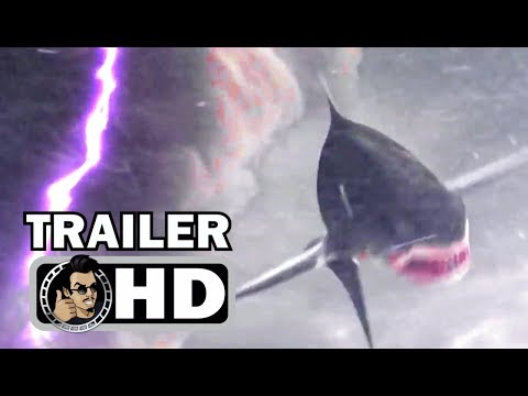 SHARKNADO 5: GLOBAL SWARMING Official Trailer #2 (2017) Action Comedy Movie HD streaming vf