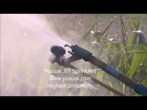 Nelson irrigation f100 big gun sprinkler doovi for Irrigatori nelson