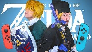 A LINK BETWEEN JOYCONS • The Legend of Zelda: Breath of the Wild