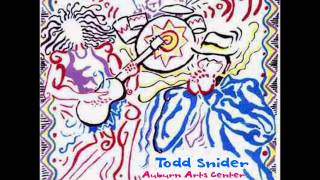 Todd Snider - November 11 2000 Auburn, CA (audio)