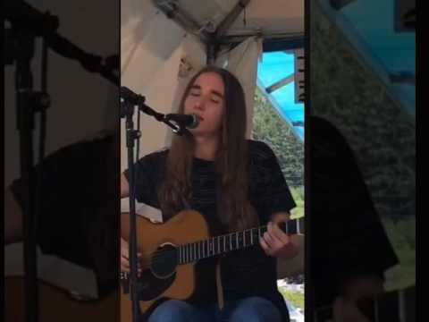 Sawyer Fredericks A Good Storm Falcon Ridge Folk Festival Rhonda Irish 8 5 17