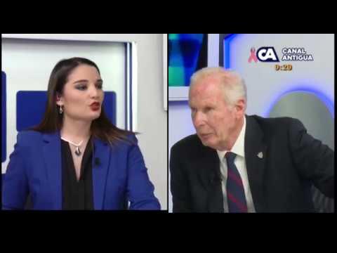 Entrevista Álvaro Arzú en a las 8:45 / 9-10-2017