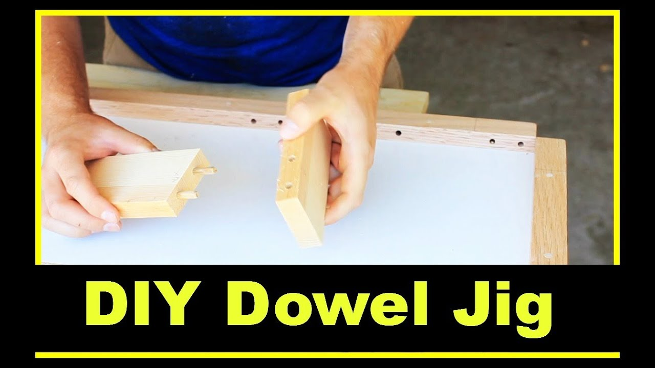 DIY Dowel Jig - YouTube