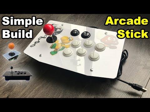 Arcade Stick Custom Build DIY PC Raspberry Pi PS3