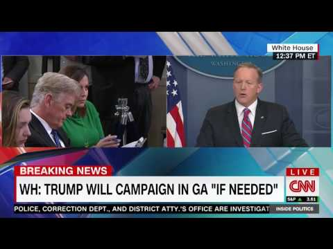 """Spicer, NBC reporter have testy exchange over Georgia congressional race: """"It's a loss"""" for Dems"""