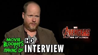 Avengers: Age Of Ultron (2015) Official Movie Interview - Joss Whedon