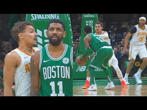 Kyrie Irving Teaches Trae Young A Lesson For 1V1 Him Then Trae Shocks Celtics With Steph Curry Range