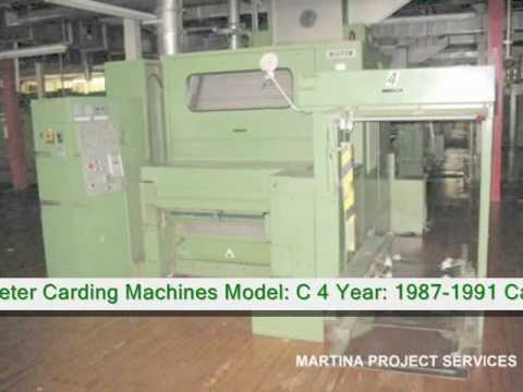 used textile machinery
