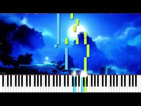 Ori and the Blind Forest // Ori, Lost in the Storm // Piano