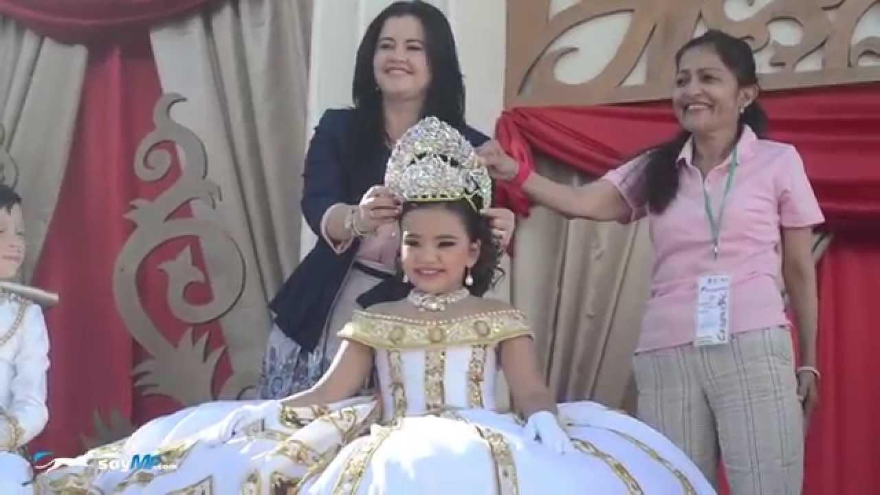 Carnaval Guamuchil 2015 At Coronacion Reinas Infantiles