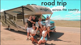 we road tripped across the country for a week.. things got wild