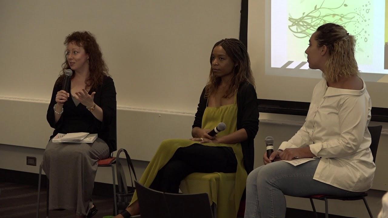 Library Professional Development Day: Andrea Reyes, Beth Fiteni, Priscilla Debar