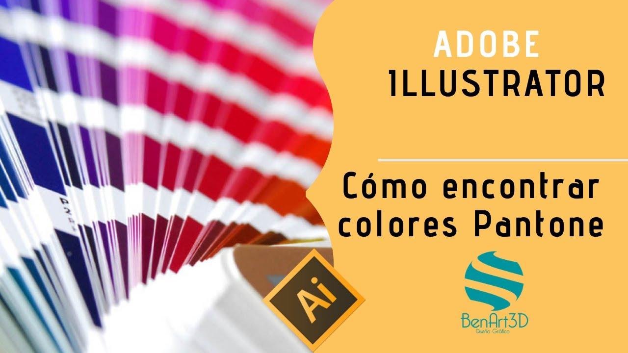 Como Encontrar Colores Pantone En Illustrator - YouTube