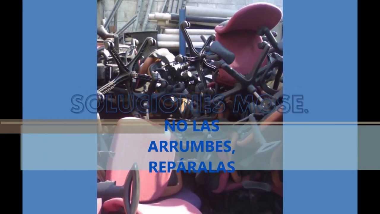 REPARACIÓN DE SILLAS DE OFICINA, SECRETARIALES , EJECUTIVAS Y ...