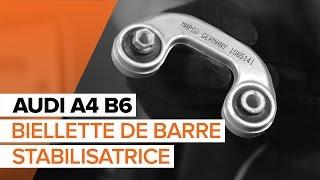 Comment changer Biellette de suspension AUDI A4 (8E2, B6) - guide vidéo