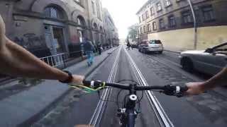 Bike tour in Lviv.
