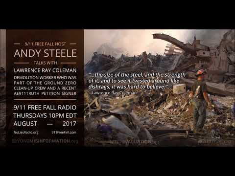 9/11 Free Fall 8/10/17: A Ground Zero Worker Speaks Out