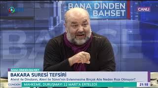 Bana Dinden Bahset - İhsan Eliaçık - 18 Ocak 2019 - KRT TV